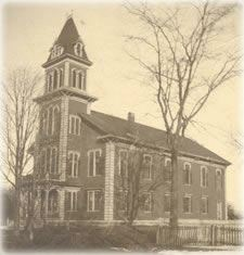 Historic Picture of Westford Town Hall