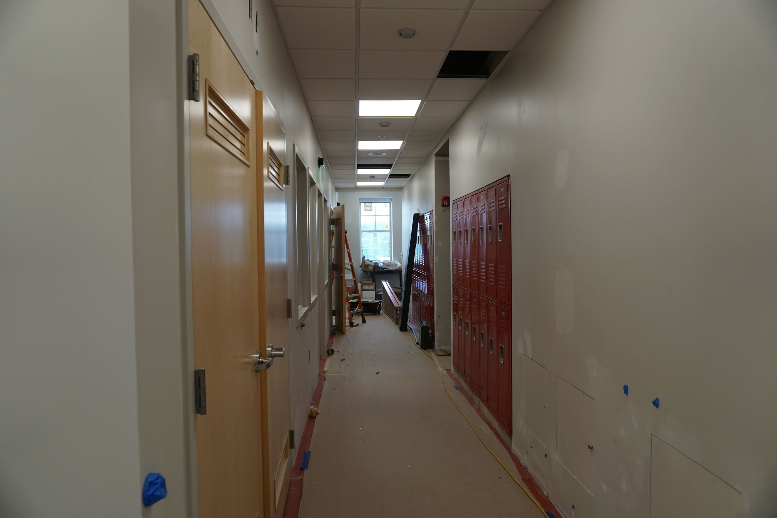9-14-18 Second Floor Lockers