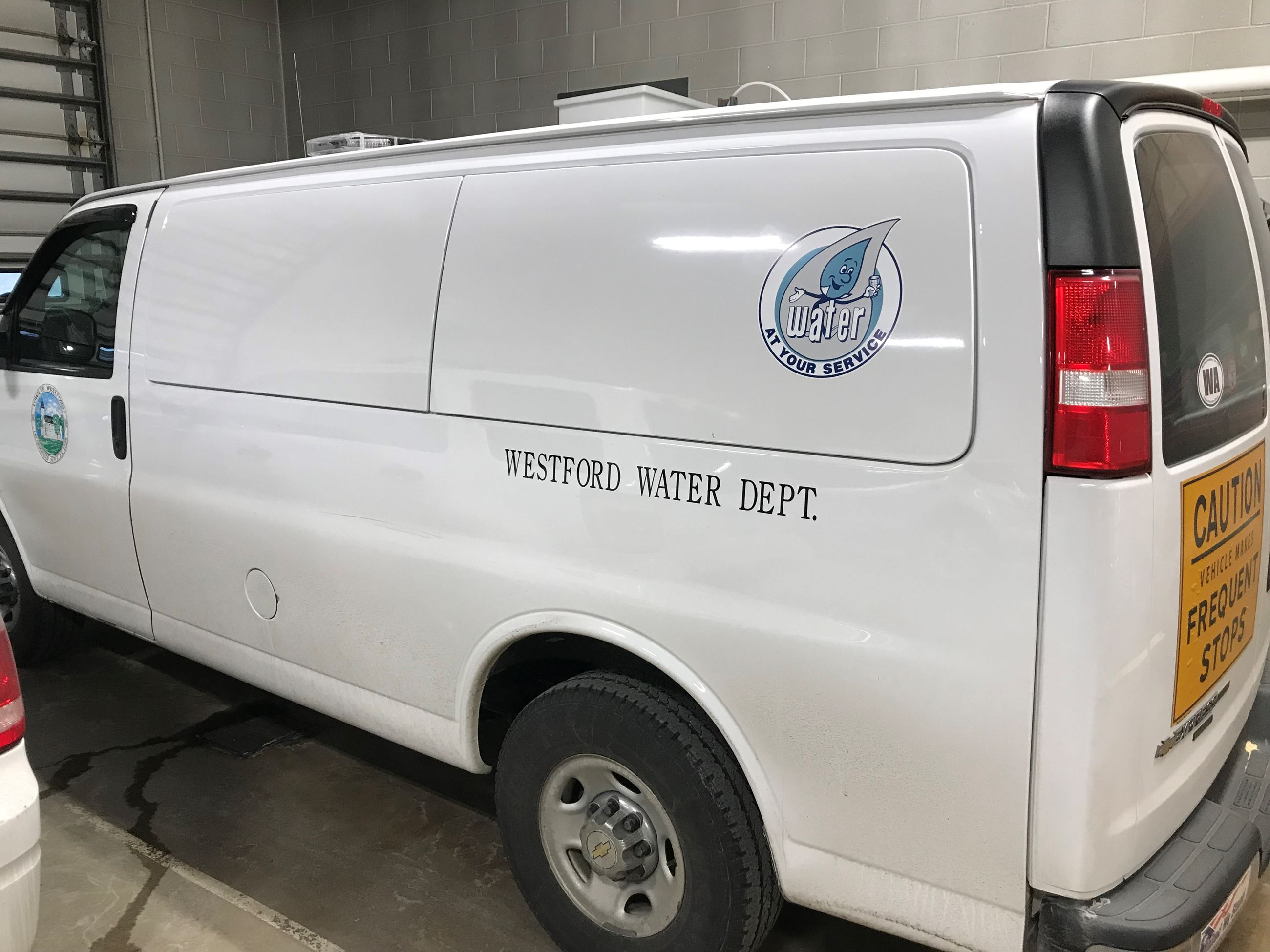 White Water Dept Van