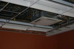 Ventilation in Ceiling
