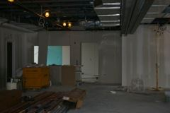 First Floor Looking at Kitchen Area