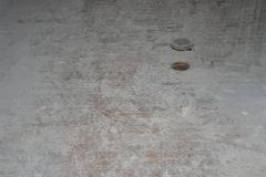 Original Bathroom Floor